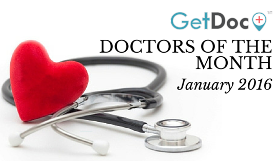 January 2016 Doctors of the Month – GetDoc