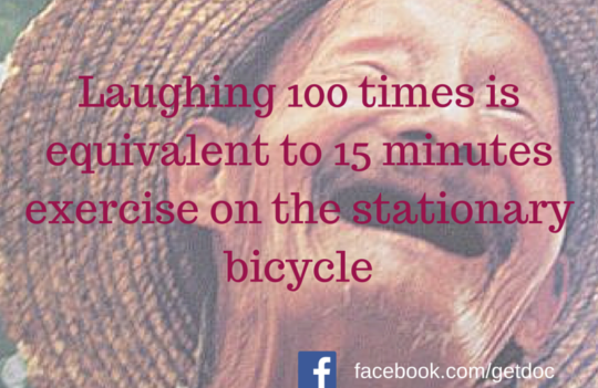 Laughing – the funniest exercise!