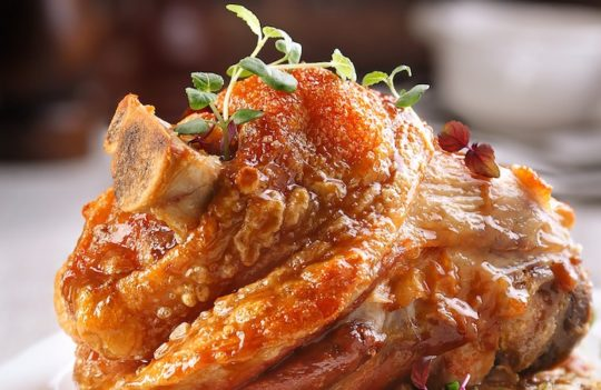 Pork Knuckle For Anti-Ageing?