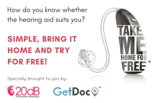 20dB Hearing Aid Take Home Trial