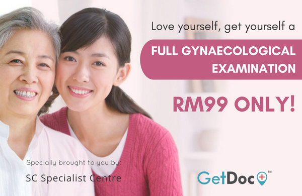 GetDoc_SC Specialist Centre Gynaecological Examination