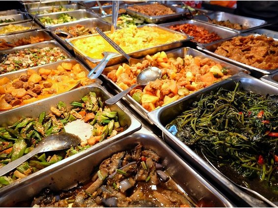eat healthy in malaysia